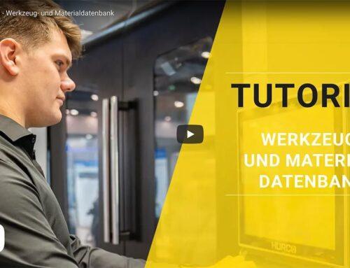 HURCO Werkzeug- und Materialdatenbank